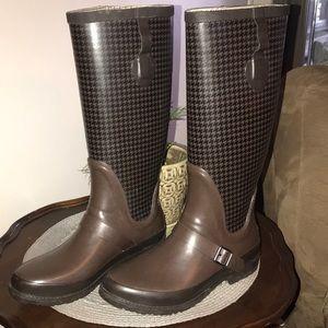 LL Bean Wellie Rain Boots Size 9